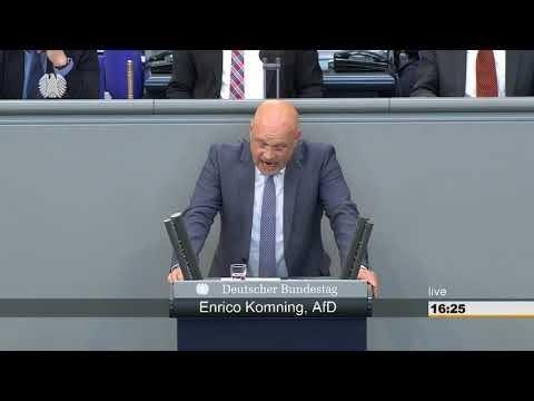Sie verschließen die Augen vor den wahren Problemen ► AfD - Enrico Komning im Bundestag - Patriot