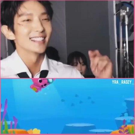 🌷🌸yra radzy🍁🌺 on Instagram so sweet ❤❤ baby shark doo doo love you @actor jg 😍 leejoongi leejunki actor jg actorleejoongi la