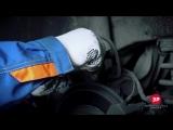 Volvo XC70 замена задних тормозных колодок в механизме с электроприводом ручника