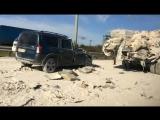 Дорогу в Петербурге засыпало цементом после аварии