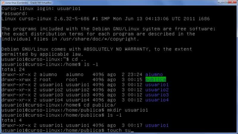 A Linux sin ventanas Lección 27