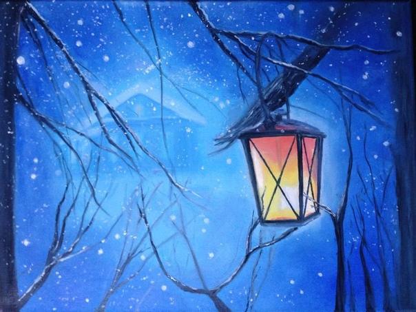 Фонарная звезда (Пятничная рассказявка 321) Вечером, когда на улице стемнело, а на веранде зажгли уютный торшер с оранжевым абажуром, Васька замер подле открытого окна. Долго вглядывался в