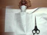 свадебное платье для кукол своими руками