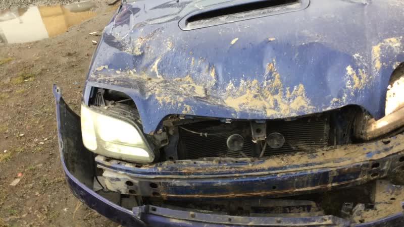 В разборе Subaru Legacy Outback B12 (Субару Легаси) ДВС 2.0 260л.с. EJ20 / 4WD F4WD АКПП Универсал 2000г