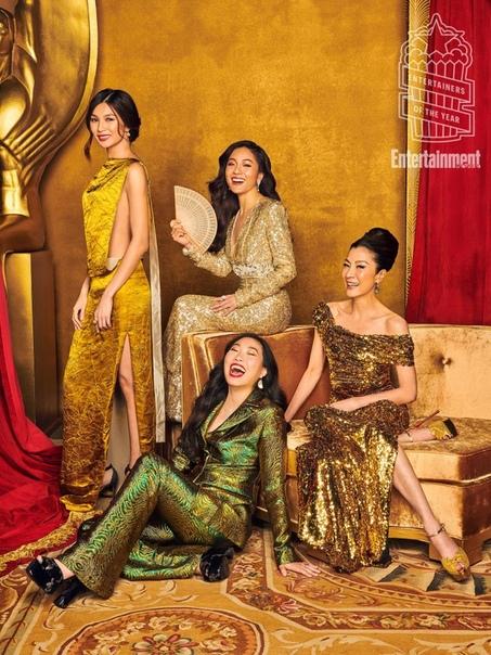 Каст фильма «Безумно богатые азиаты» Entertainment Weekly, Декабрь 2018