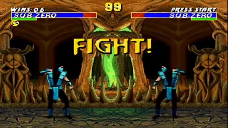 Mortal Kombat 3 Sub -Zero