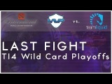 Last fight - MVP Phoenix vs. Team Liquid @ TI4 Wild Card Playoffs