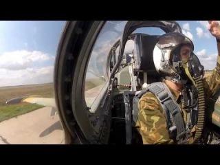 ВВС Украины. Полет на Л-39.