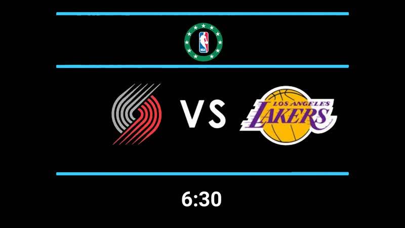 NBA | Portland VS Lakers