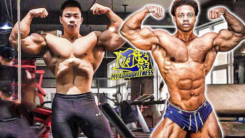 WHEN CHEN KANG MEET BREON M. ANSLEY⎟COMPARISON AND WORKOUT MOTIVATION⎟激励