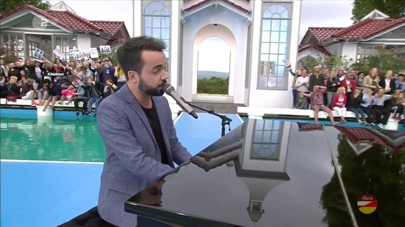 Jonathan Zelter «Kurz vor Kuss» (ZDF- Fernsehgarten 02.09.2018)