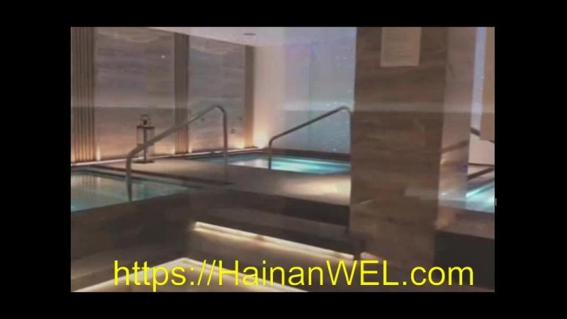 Баня и сауна в Санья, остров Хайнань, Китай -экскурсия на видео