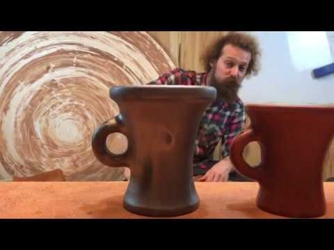 🍯 Кружка Стопарь 17 век Обучение гончарству Волшебство керамики