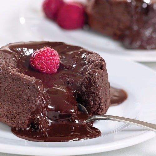 Фондан Ингредиенты: Шоколад темный — 100 Грамм Сливочное масло —