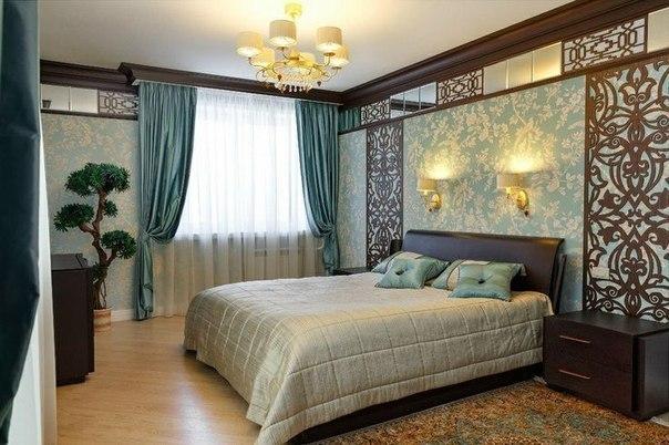 Спальня в восточном стиле (1 фото)