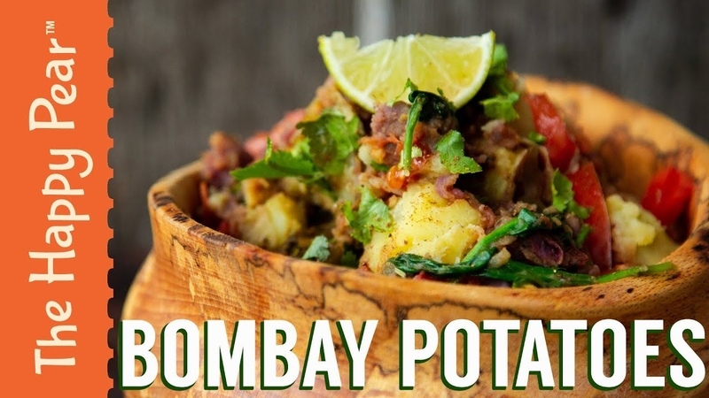 BOMBAY SPICY POTATOES | THE HAPPY PEAR | VEGANUARY RECIPE