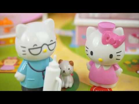 Hello Kitty Toys Pet Hospital Baby Children Story! - Parenting