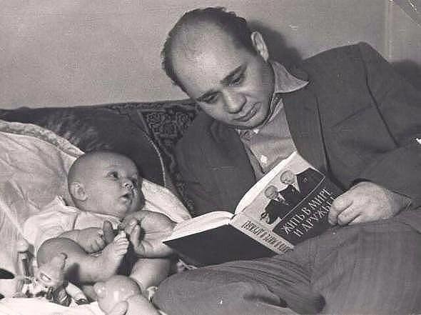 Из семейного фотоальбома Евгения Леонова.