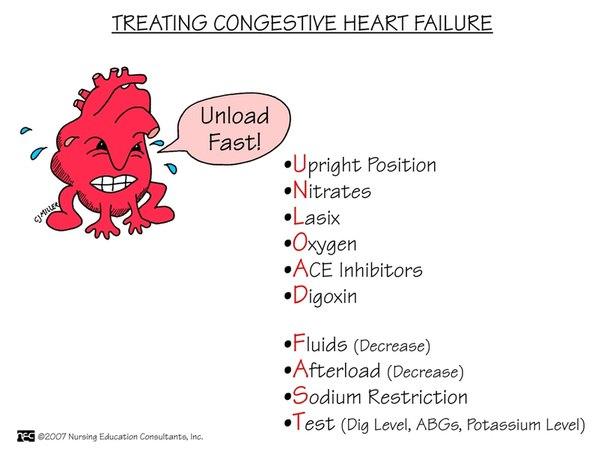 Кардиология: Лечение хронической сердечной недостаточности