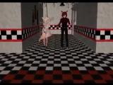 аниме танец Фокси и мангл