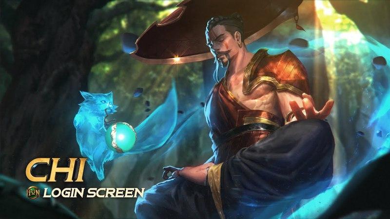 Chi Login Screen Heroes of Newerth