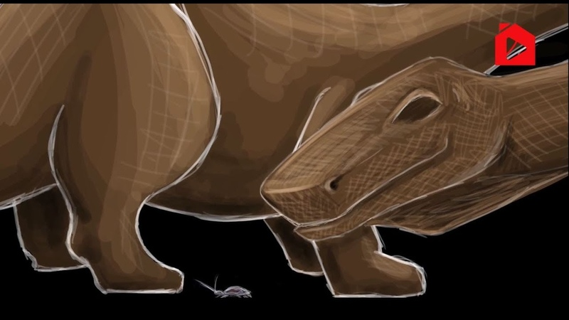 Динозавры и тараканы. Начало и Конец 37   Омар Сулейман