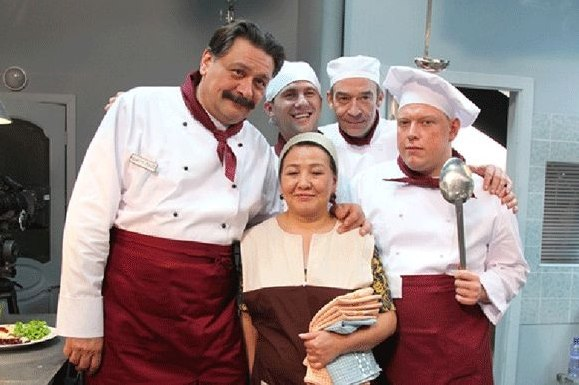 Красотки из кухни часть I  актёры кухни кристина