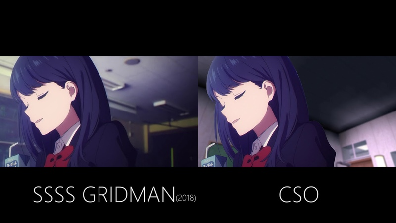 【SSSS GRIDMAN】X【CSO TW】ゲームにアニメが登場すると特別配送(非公式)Ending Compared ver【北39640