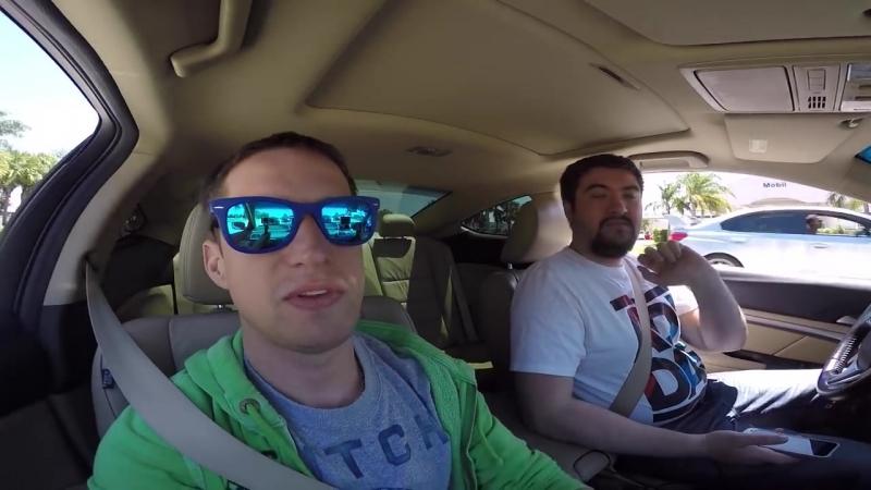 [Alexander Kondrashov] Русские в Америке 4 - Американский Завтрак IHOP, Едем на УльтраМьюзик