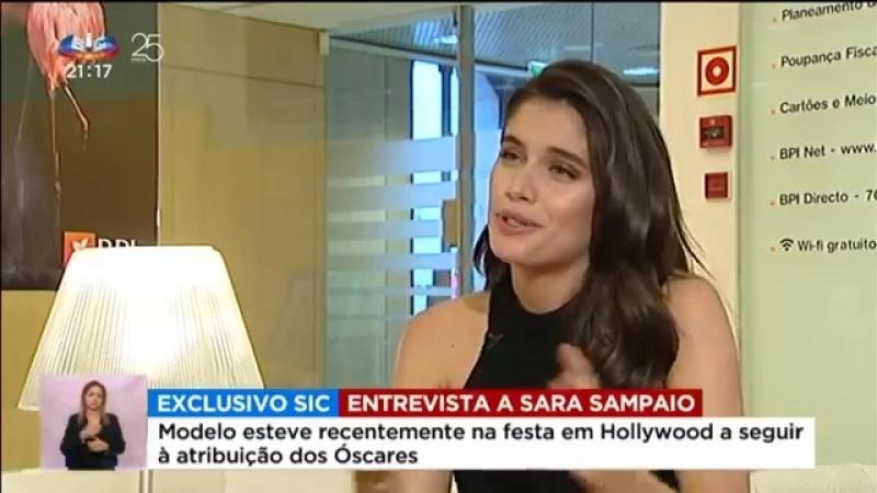 Sara Sampaio, a jovem de 26 anos que conquistou o mundo - Reportagem Especial SIC
