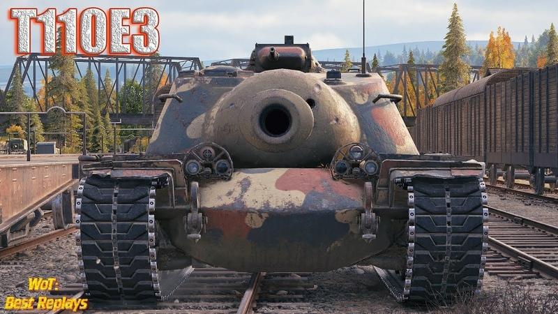 T110E3 : Забористый Бой в Топе 1vs5 * Энск