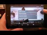 Демонстрация IPTV на планшете с видеосистемой Tegra 3 под управлением android 4.4
