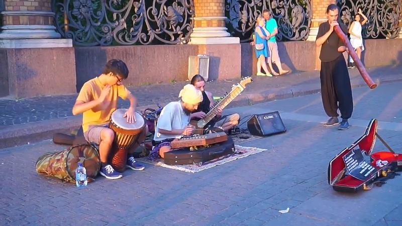 Bola Baja Street perfomance Saint Petersburg 2018