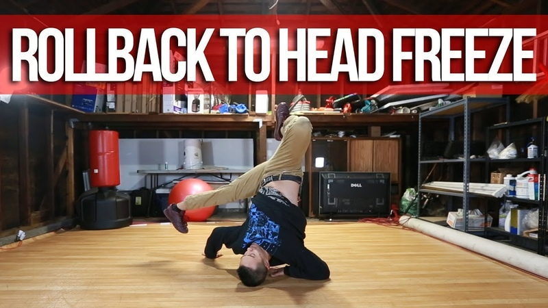 How To Breakdance | Rollback To Head Freeze | Freeze Basics