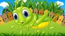 В траве сидел кузнечик - Мультик Детям