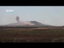 САА продолжает артобстрел горы Tell Jumou бассейн Yarmouk Daraa