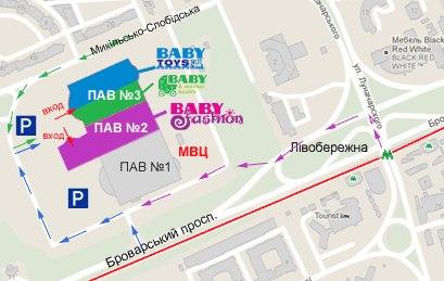карта выставок