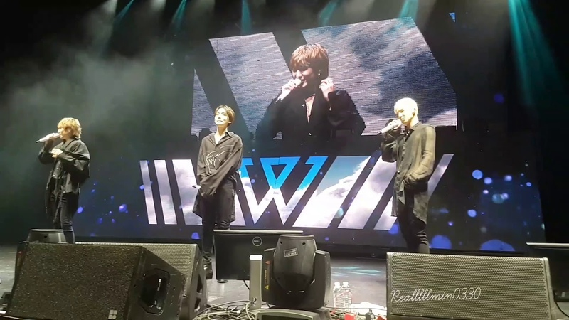 190115 2nd Ment - WINNER 위너 2019 EVERYWHERE TOUR IN SEATTLE