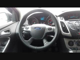 Форд фокус 3 ОПЛЕТКА на руль Перетяжка