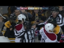 Galchenyuk whacks Miller in the face with high stick