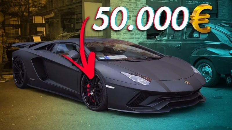 Lamborghini Aventador S mit 50000€ Carbon Felgen | RB Engineering | Lamborghini Aventador SVJ
