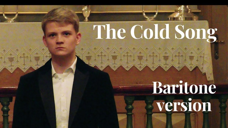 The Cold Song | Aksel Rykkvin (15y baritone) James Dickenson