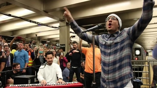 Linkin Park LIVE in Grand Central Station: In the End