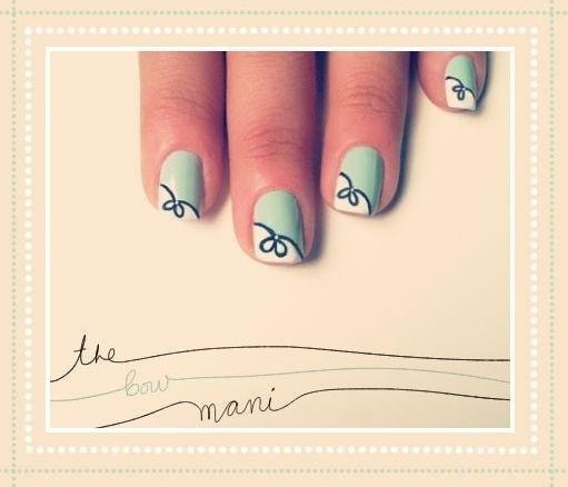 Рисунки на ногтях в домашних условиях лет