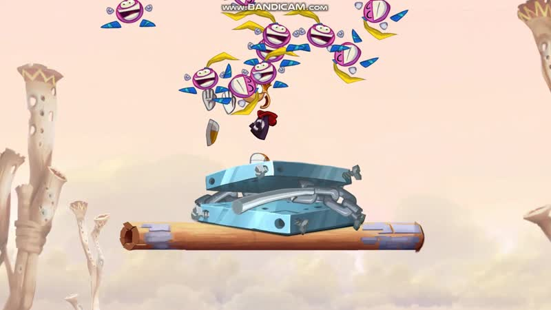 Rayman Origins часть 2: Пустыня Диджириду