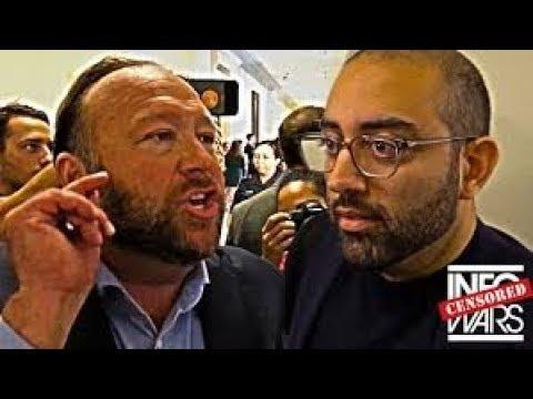 Репортёр CNN чуть не наложил в штаны при встрече с Алексом Джонсом в конгрессе