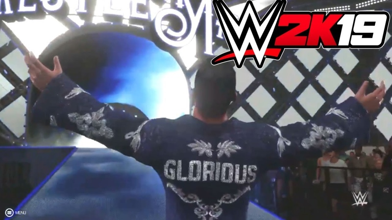 Bobby Roode Entrance at WrestleMania 34 in WWE 2K19