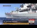 «Адмирал Григорович» и «Адмирал Эссен» выполнили стрельбы в Средиземном море