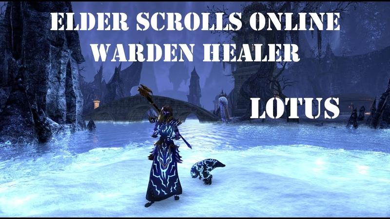 PvE Warden Healer Build Lotus - Wolfhunter - ESO