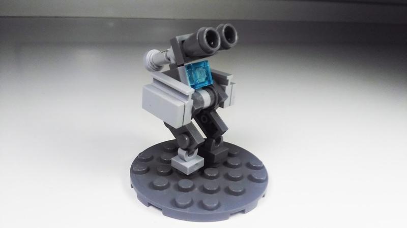 [Лего самоделка] Мини-робот для МФЗ | Настолка Mobile Frame Zero | Мех из деталей конструктора lego